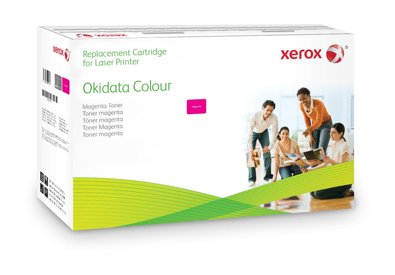 Xerox Cartucho De Tóner Magenta. Equivalente A Oki 43487710