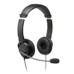 Kensington K97603WW Binaural Head-band Black headset