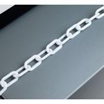 FSMISC 25M 8MM THCK PLASTIC CHAIN WHT 360060077