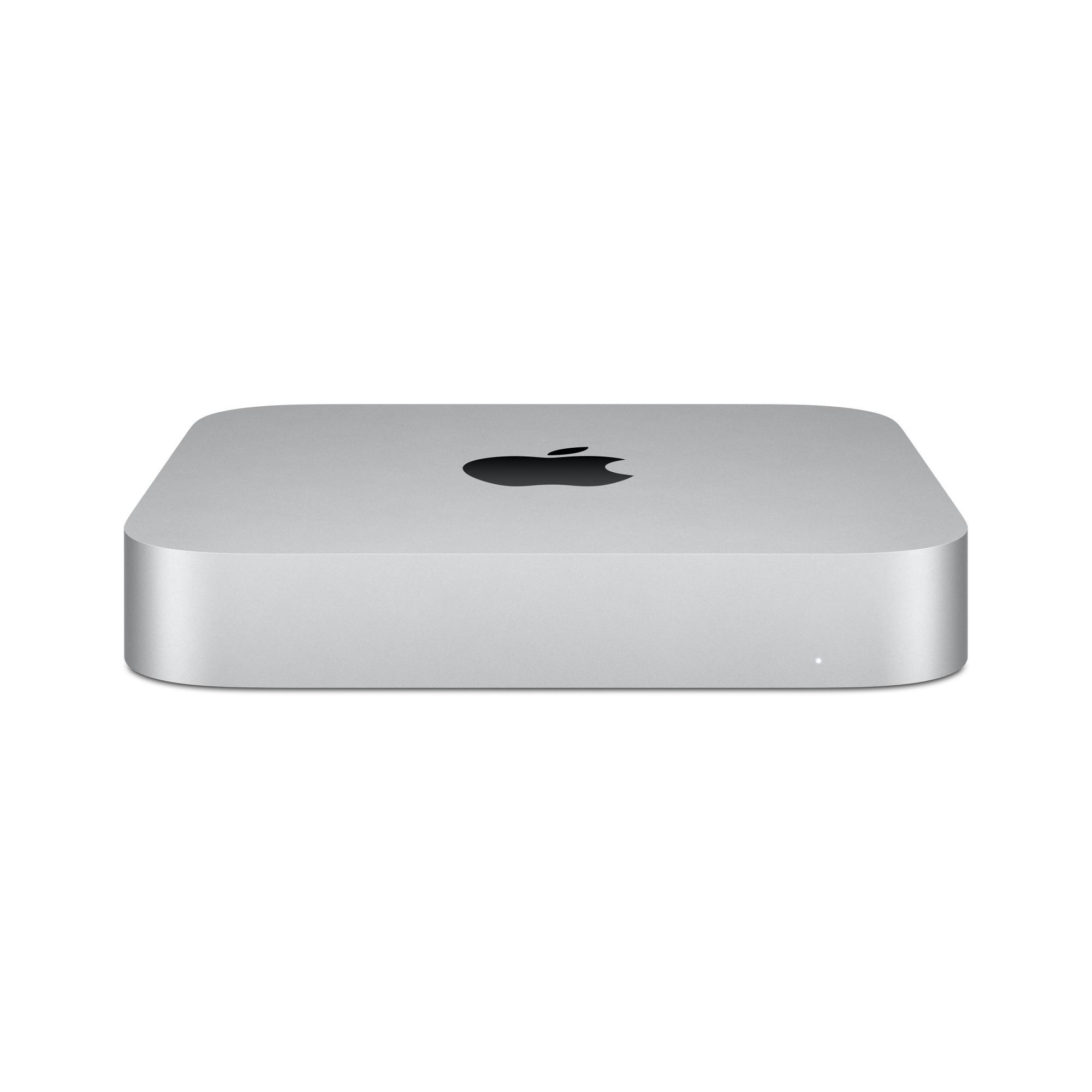 Apple Mac mini M M1 8 GB DDR4-SDRAM 256 GB SSD Plata Mini PC macOS Big Sur