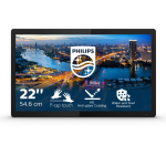 "Philips B Line 222B1TFL/00 touch screen monitor 54.6 cm (21.5"") 1920 x 1080 pixels Multi-touch Black"