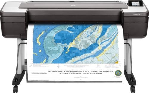 HP Designjet T1700dr 44-in PostScript large format printer Colour 2400 x 1200 DPI Thermal inkjet 1118 x 1676