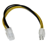 StarTech.com 8in ATX12V 4 Pin P4 CPU Power Extension Cable - M/F ATXP4EXT