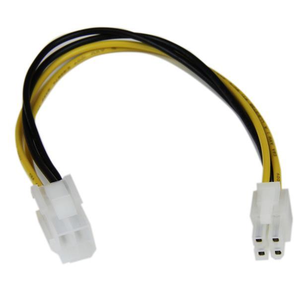 StarTech.com 20cm ATX12V 4-pins P4 CPU Verlengkabel Voeding M/F