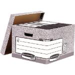 Fellowes 181201 file storage box Carton Grey