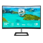 "Philips E Line 322E1C/00 LED display 80 cm (31.5"") 1920 x 1080 pixels Full HD LCD Black"