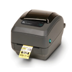 Zebra GK420t label printer Thermal transfer 203 x 203 DPI Wired