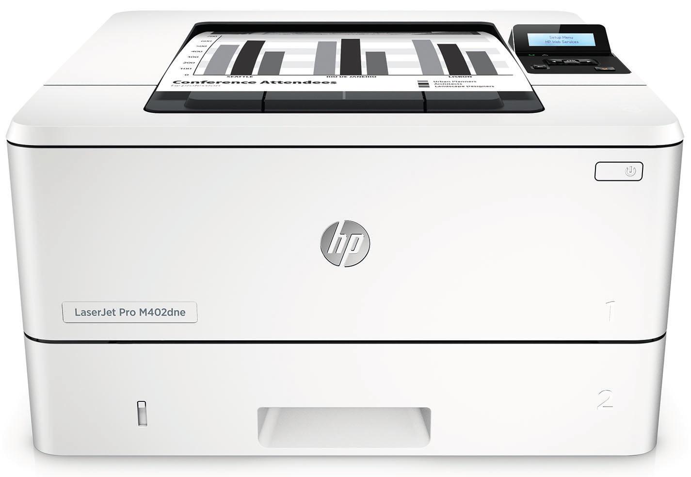 HP LaserJet Pro M402dne 1200 x 1200DPI A4 Grey