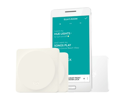 Logitech POP Home Switch Bluetooth/Wi-Fi smart home multi-sensor