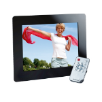 "Intenso 8"" Weatherstar digital photo frame 20.3 cm (8"") Black"