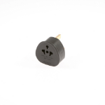 SMJ TADBBC Black power plug adapter