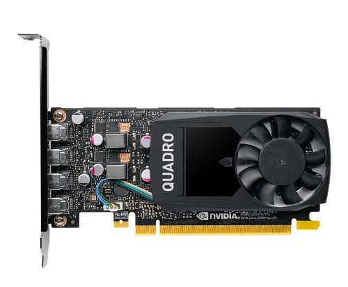 PNY VCQP1000V2-SB graphics card NVIDIA Quadro P1000 V2 4 GB GDDR5