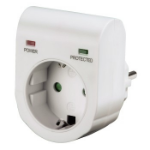 Hama 00047771 surge protector 1 AC outlet(s) 230 V White