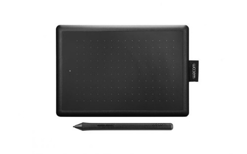 Wacom One by Small graphic tablet 2540 lpi 152 x 95 mm USB Black