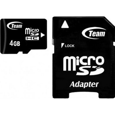 Team Group microSDHC 4GB 2GB MicroSDHC Class 10 memory card