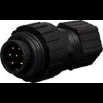 Altronics 7 Pin 8A Screw-On Male Line IP67 Waterproof