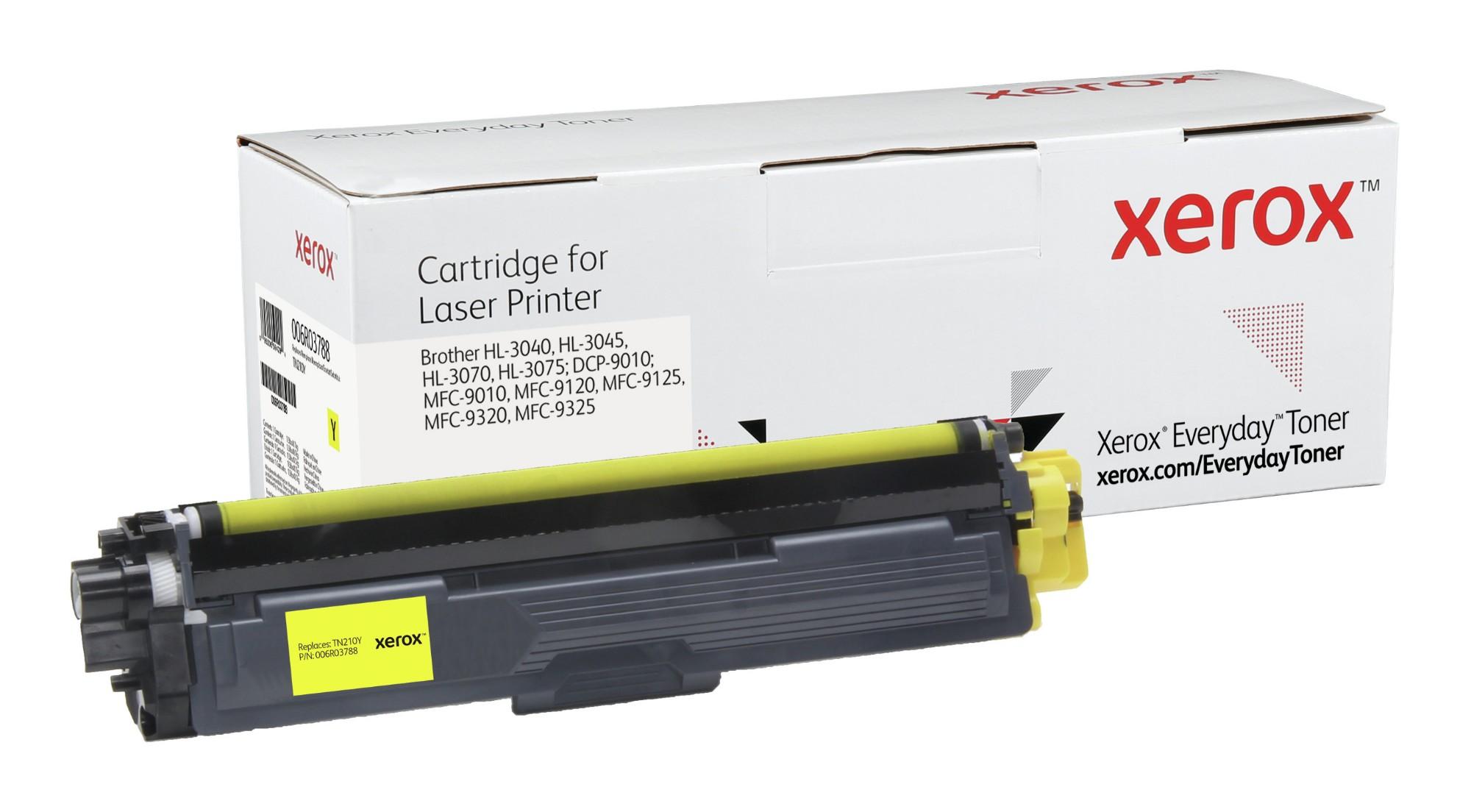 Xerox Tóner de Rendimiento estándar Amarillo Everyday, Brother TN230Y equivalente de , 1400 páginas