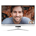 """Lenovo IdeaCentre 520S 2.50GHz i5-7200U 23"""" 1920 x 1080pixels Touchscreen Silver All-in-One PC"""