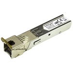 StarTech.com Gigabit Copper RJ45 SFP Transceiver Module - HP 453154-B21 Compatible