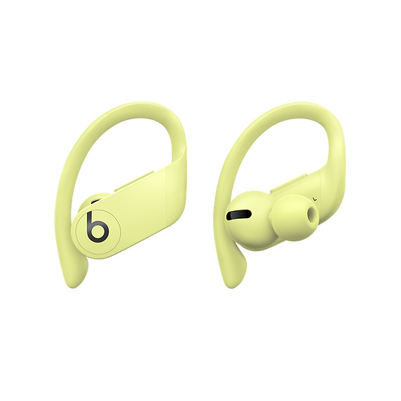 Apple Powerbeats Pro Headset Ear-hook,In-ear Yellow