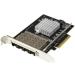 StarTech.com PEX10GSFP4I adaptador y tarjeta de red Interno Fibra 20000 Mbit/s