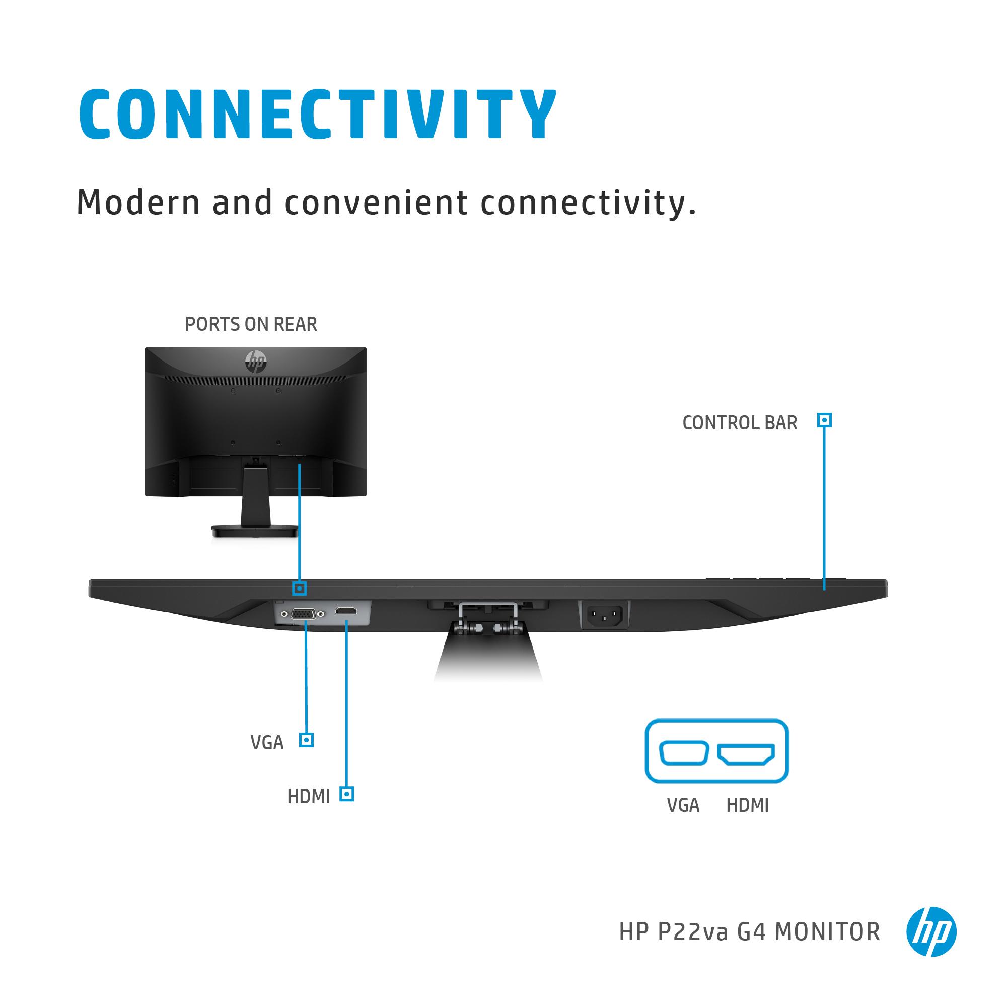 HP P22va G4 FHD Monitor