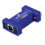 IMC Networks 232USB9M-LS serial converter/repeater/isolator USB 2.0 RS-232 Blue