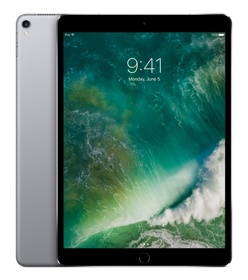 "Apple iPad Pro 26.7 cm (10.5"") 512 GB Wi-Fi 5 (802.11ac) Grey iOS 10"