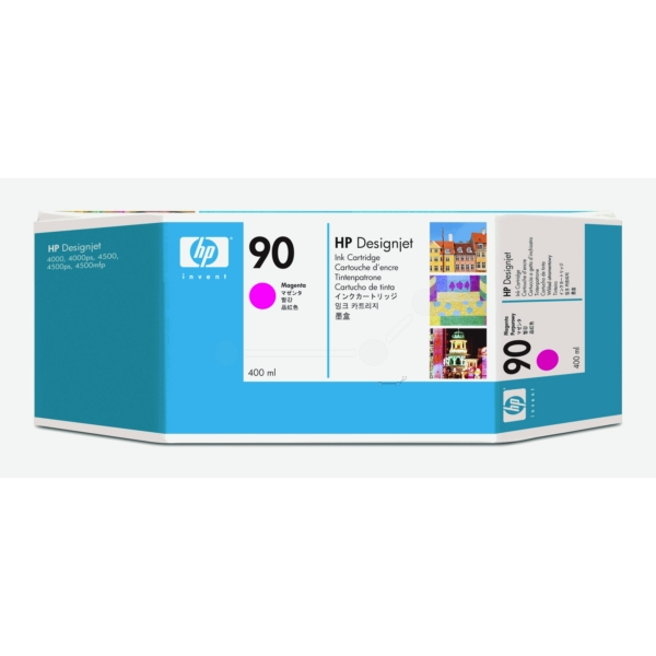 HP C5063A (90) Ink cartridge magenta, 750 pages, 400ml