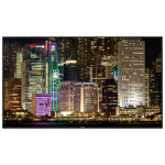 "Christie UHD861-P 2.18 m (86"") LED 4K Ultra HD Digital signage flat panel Black"