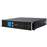 CyberPower PR1000ELCDRT2U 1000VA 8AC outlet(s) Rackmount/Tower Black uninterruptible power supply (UPS)