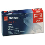 Rexel No. 16 (24/6) Staples (1000)