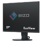 "EIZO FlexScan EV2750 27"" 2K Ultra HD IPS Black computer monitor"