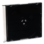 Verbatim CD/DVD Black Slim Storage Cases 200pk