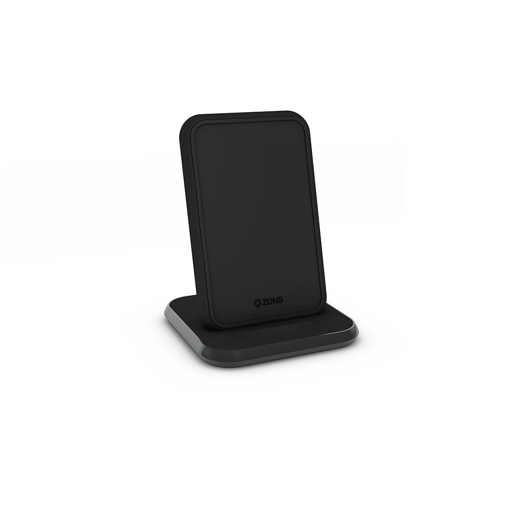 Wireless Charger 10w Stand Fast Black For Apple / Samsung