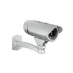 D-Link DCS-7110 IP security camera Indoor & outdoor Bullet Silver 1280 x 800 pixels