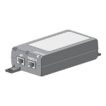 Cisco AIR-PWRINJ5= PoE adapter & injector Gigabit Ethernet