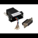 Black Box FA4515F-BK cable gender changer DB15 RJ-45