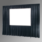 Draper Ultimate Folding Screen Valance Bar, 142 x 244, HDTV, Aluminum