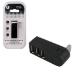 MCL USB2-M103 hub de interfaz USB 2.0 Negro