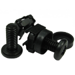 Cables Direct CAGE-01BK rack accessory Cage nuts pack