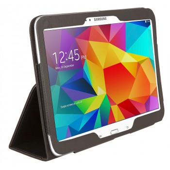 Urban Factory Samsung Galaxy Tab 4 10-Inch Folio Cover Case - Black - (FOL54UF)