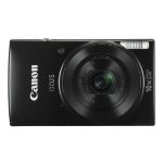 "Canon Digital IXUS 190 Compact camera 20 MP CCD 5152 x 3864 pixels 1/2.3"" Black"