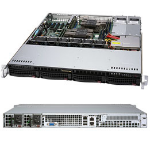 Supermicro SYS-6019P-MTR server barebone Intel® C621 LGA 3647 Rack (1U) Black