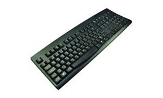 2-Power KYBAC260UP-BKCY USB QWERTY Russian Black keyboard