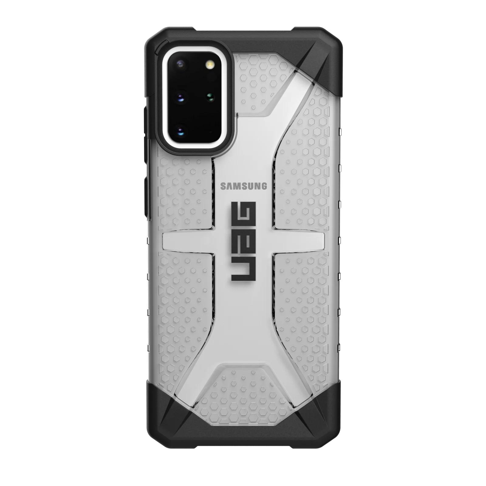 """Urban Armor Gear PLASMA SERIES funda para teléfono móvil 17 cm (6.7"""") Negro, Gris, Transparente"""