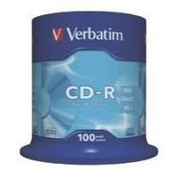 Cdr Recorder Media 700MB 80min 48x Datalife 100-pk With Spindle