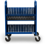 Bretford CUBE Transport Cart Portable device management cart Blue