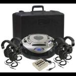 Ergoguys Califone 1886PLC-6 Portable CD player Black,Silver