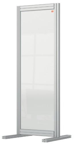 Nobo 1915494 magnetic board Gray, Transparent
